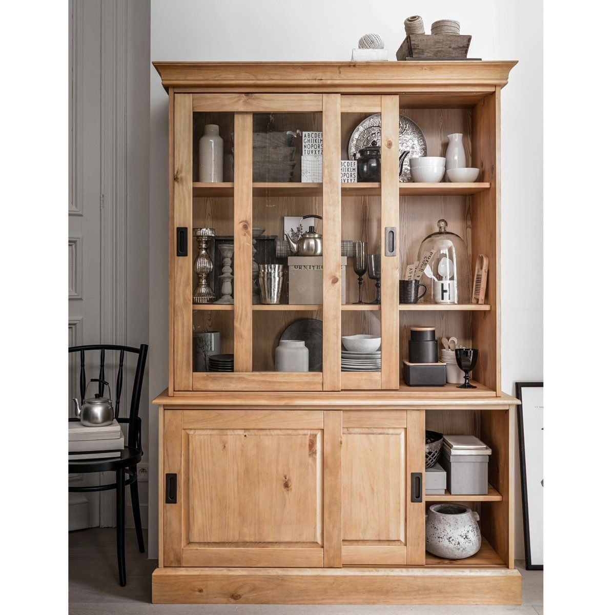 Buffet Vaisselier Pin Massif Authentic Style Buffet Vaisselier Pin Massif Vaisselier