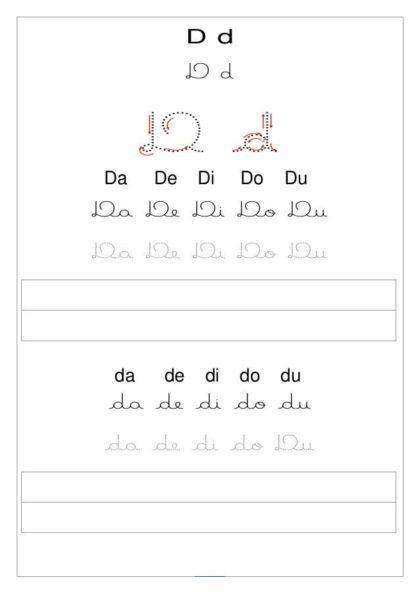 Silabas Com Da De Di Do Du Para Alfabetizar Facil Decore