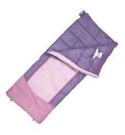 Eureka Kids Lightning Bug 45 Degree Rectangular Sleeping Bag Campmor