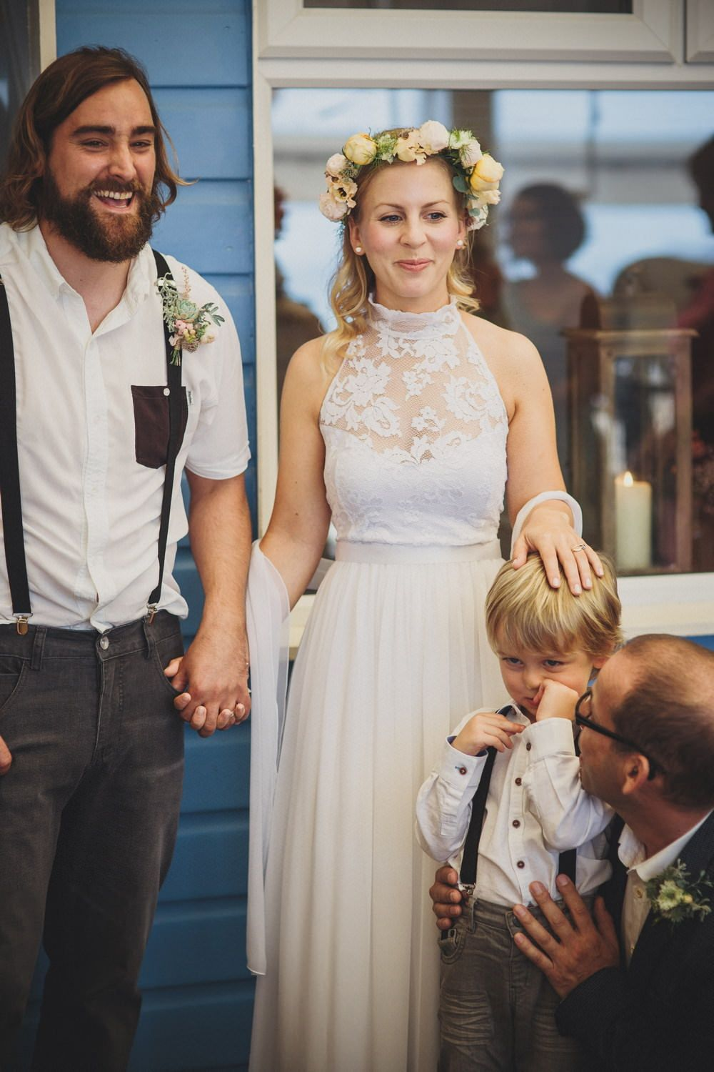 Bohemian Wedding Dress From Grace Loves Lace At A Laid Back