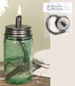 Mason Jar Oil Lamp Lid 6.00