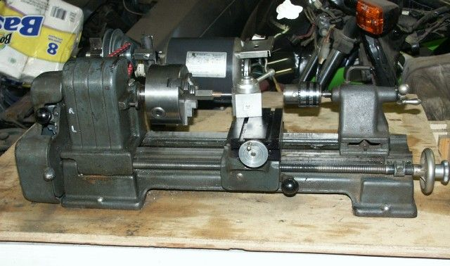 Metal Lathe For Sale >> Craftsman 6 Lathe For Sale Sold Miniture Machine Tools In 2019
