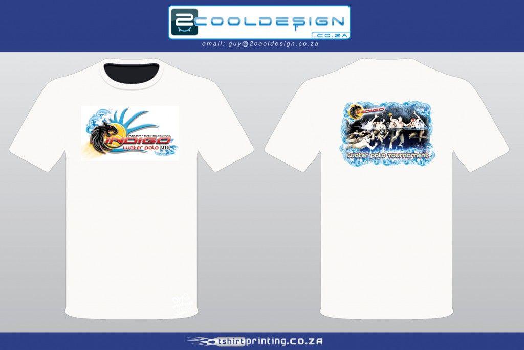 Water Polo Tshirt Logo Design By Guy Tasker