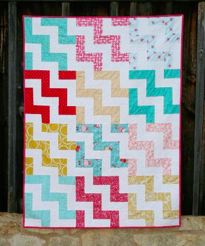 Chevron Quilt Pattern Using Jelly Roll : Stashbuster s Quilt Ideas on Pinterest 95 Pins
