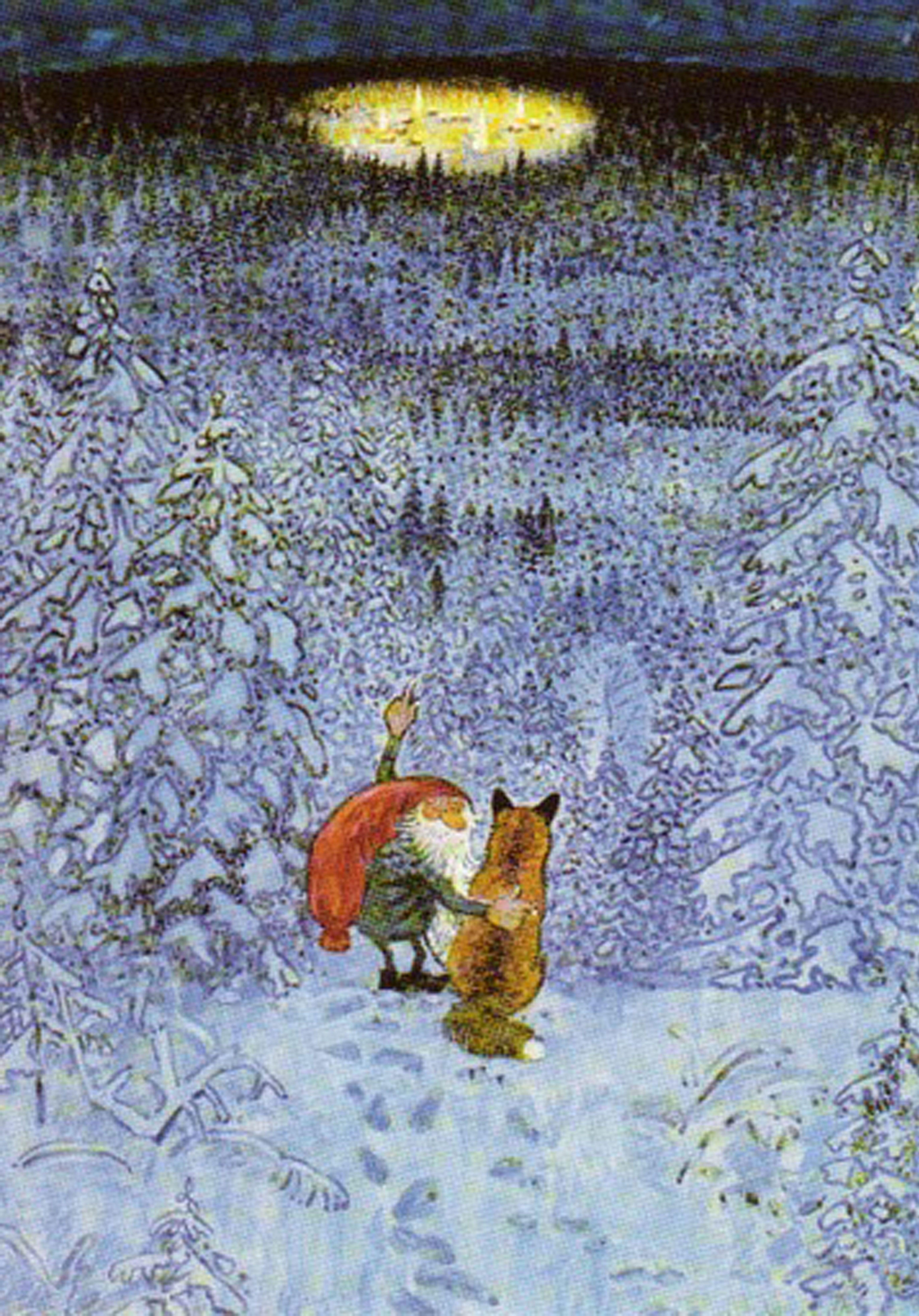 Eternal Village Of Christmas Eve Lennart Helje M A G I