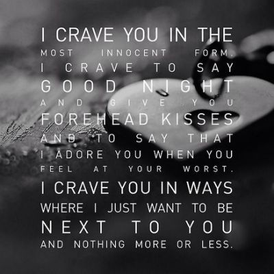 Love #relationship #long distance #miss you #crave you #want