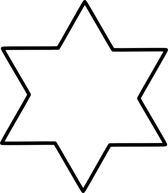 The Star of David, sometimes called the Star of Creation