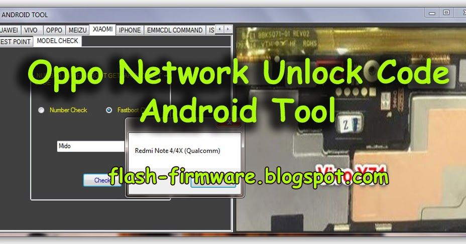 DownloadOppo Network Unlock Code Android Tool Feature