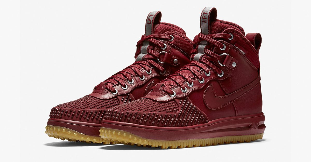 See the picturea and find release info on the new Nike Lunar Force 1  Duckboot Team Red - A Nike Sneakerboot perfect for autum and winter.