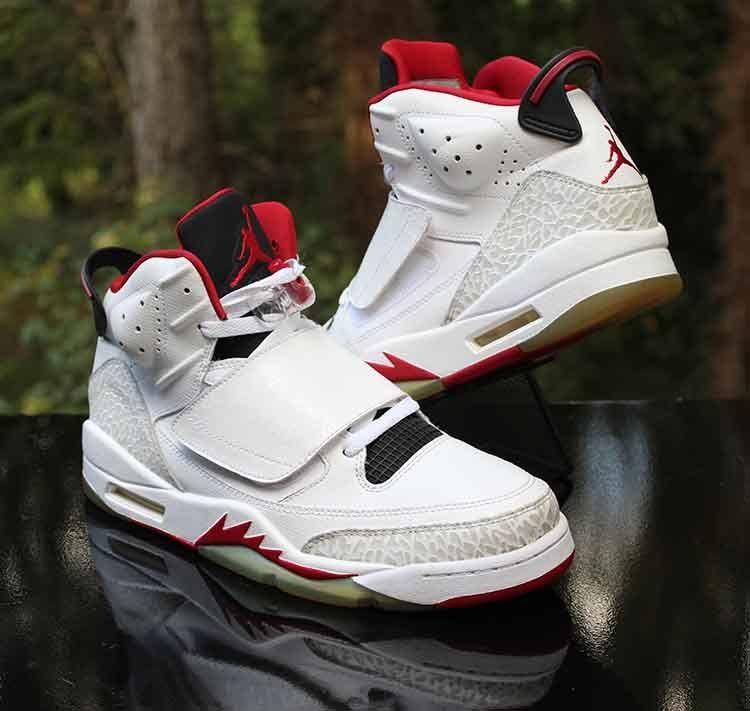 fbbf368253f5 Nike Air Jordan Son of Mars Fire Red White Black 512245-112 Men s Size 10