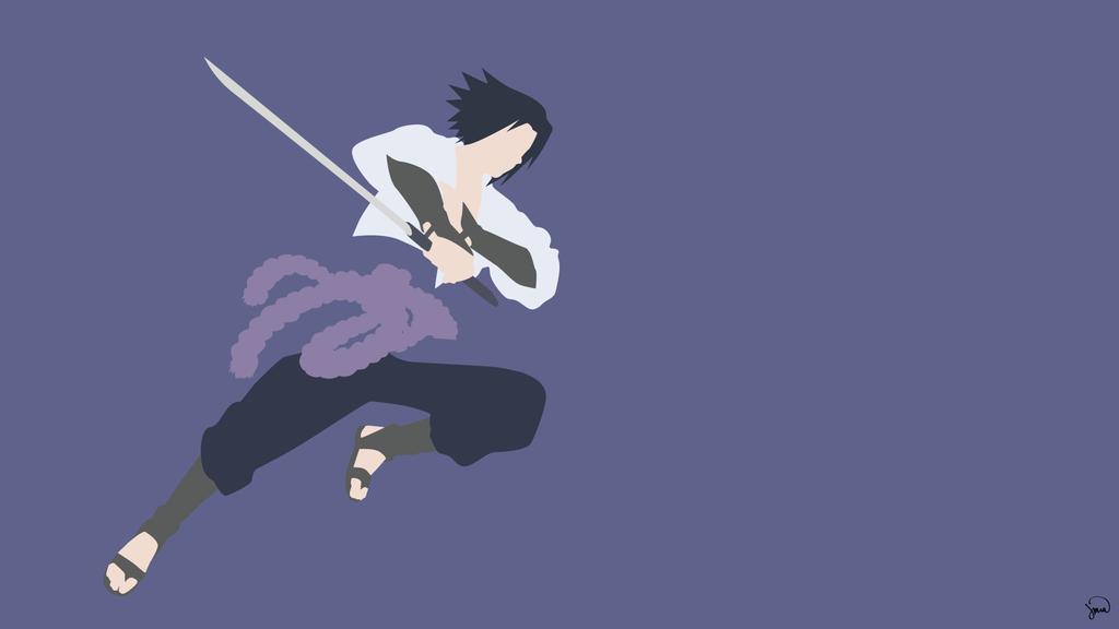 Sasuke Minimalista Fondo