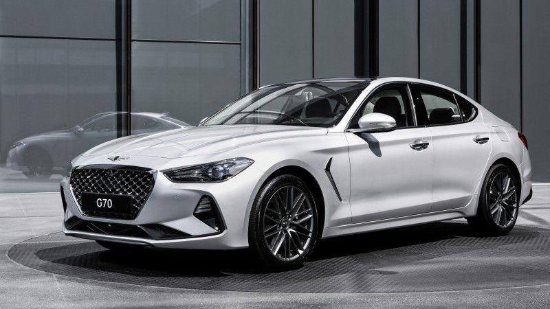 Genesis Gives Its G80 A Little Brother The Compact G70 Luxury Sedan Hyundai Genesis Hyundai Genesis Coupe Hyundai