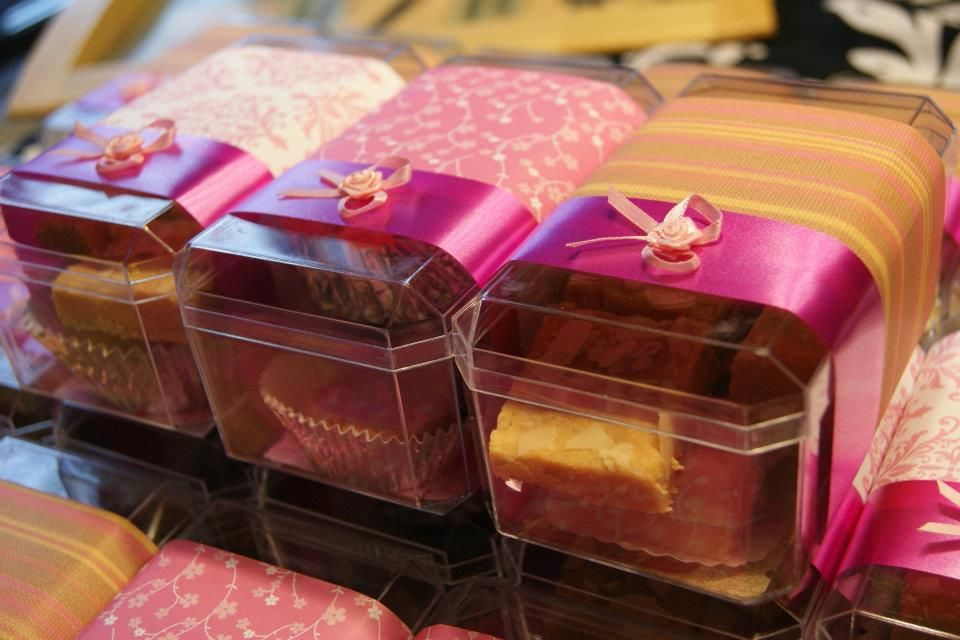 Baby Girl Announcement Favors Sweet Boxes Homemade cheesecake on – Baby Announcement Favors