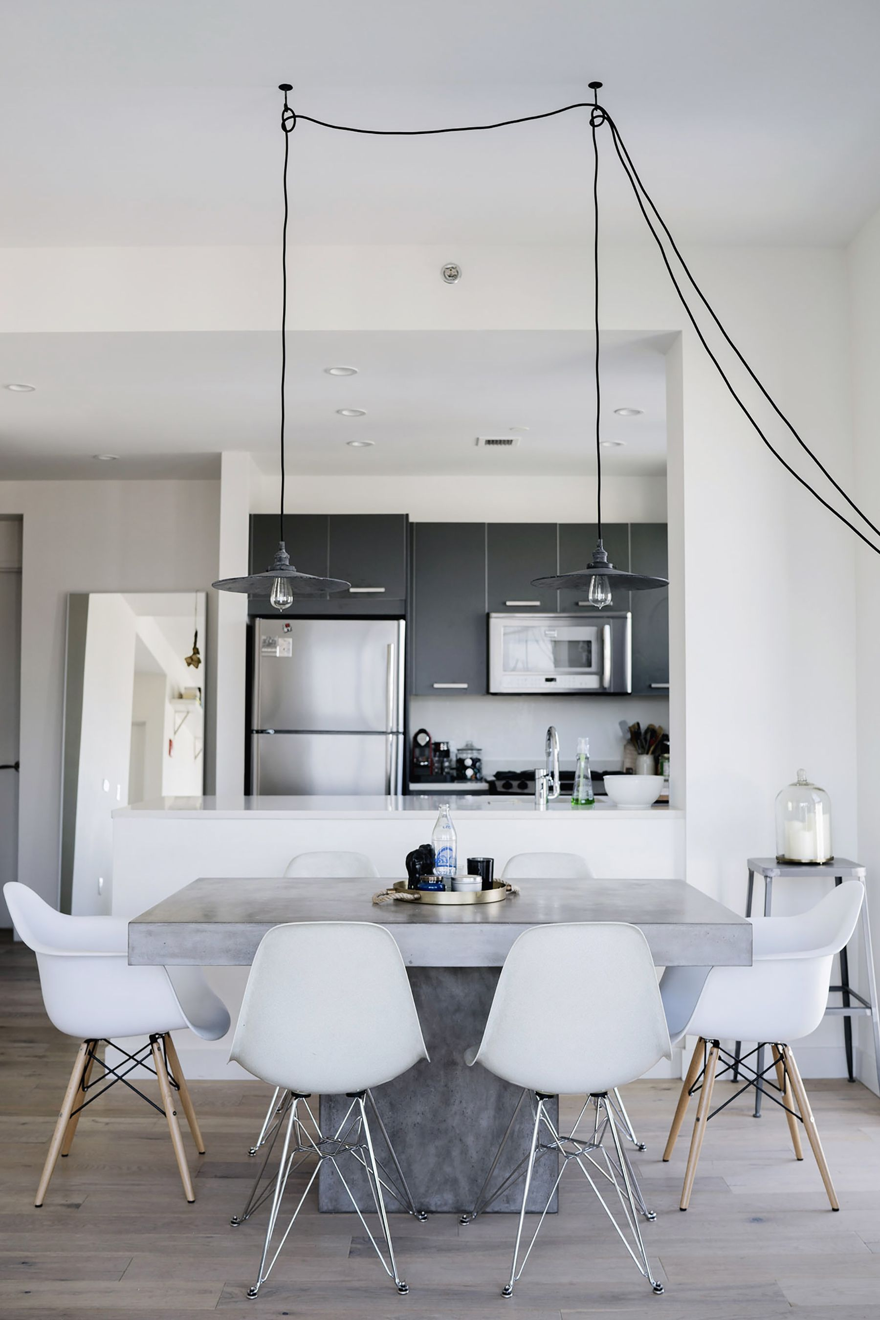 Scandinavian industrial interior in New York City | Happy Grey Lucky & Scandinavian industrial interior in New York City | Happy Grey ...