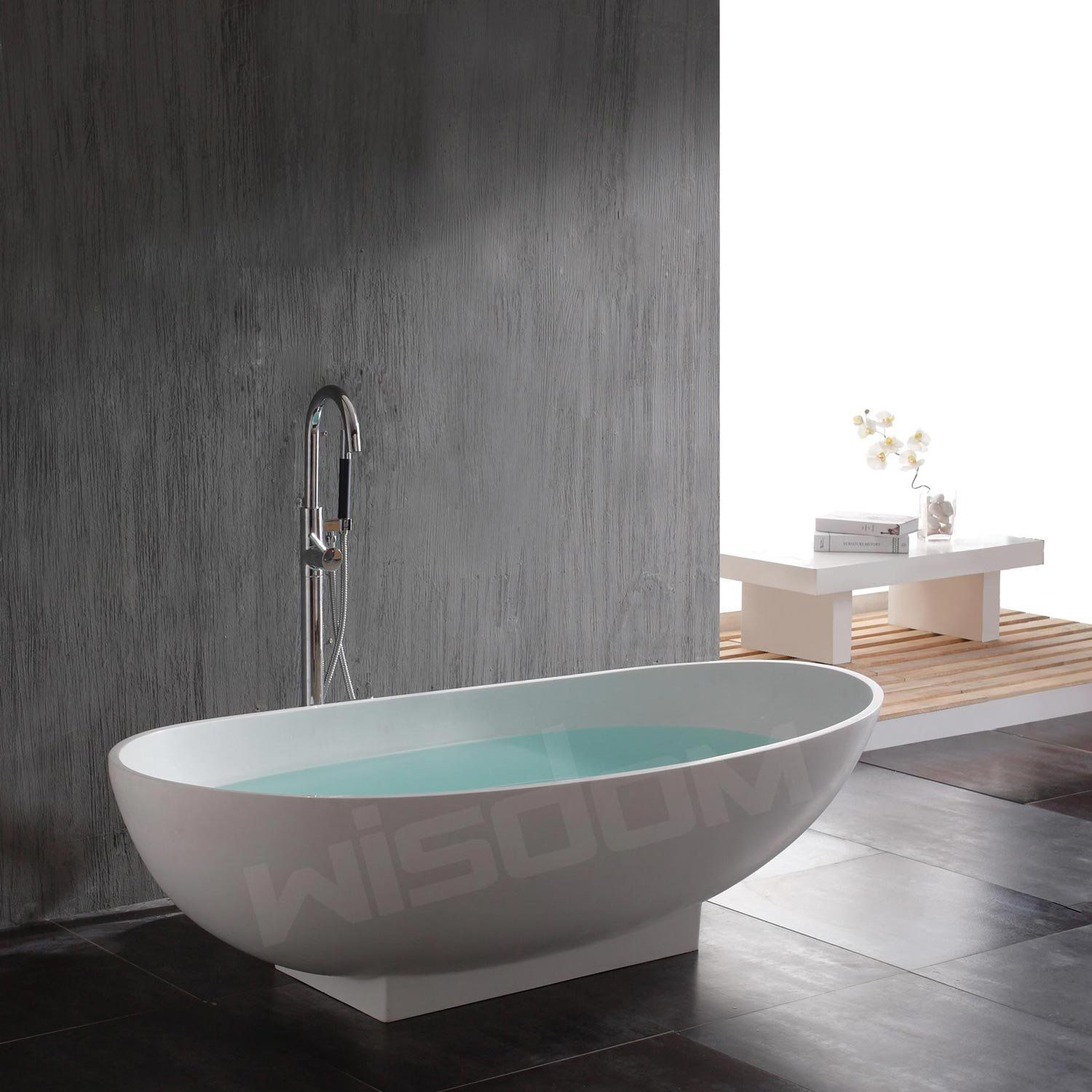 Bathroom Tab Design: Beautiful Freestanding Tubs For Modern Bathroom Design