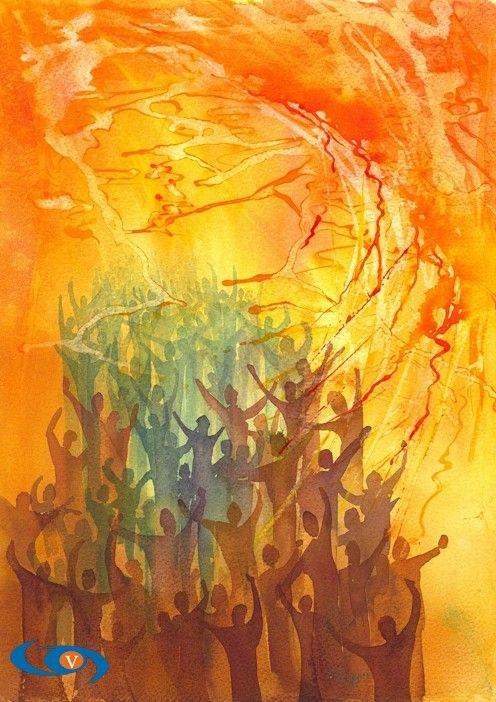 60 The Holy Spirit & Pentecost in Art ideas | pentecost, holy spirit, art