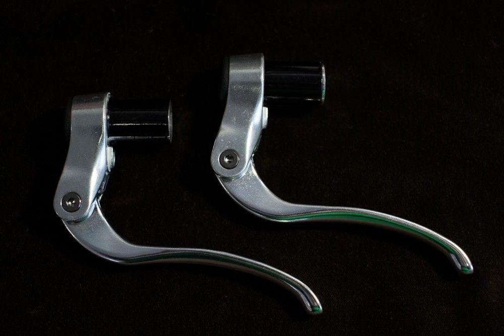 Tektro RX 4.1 Lenkerend Bremshebel für Trainingsbügel in komplett silber