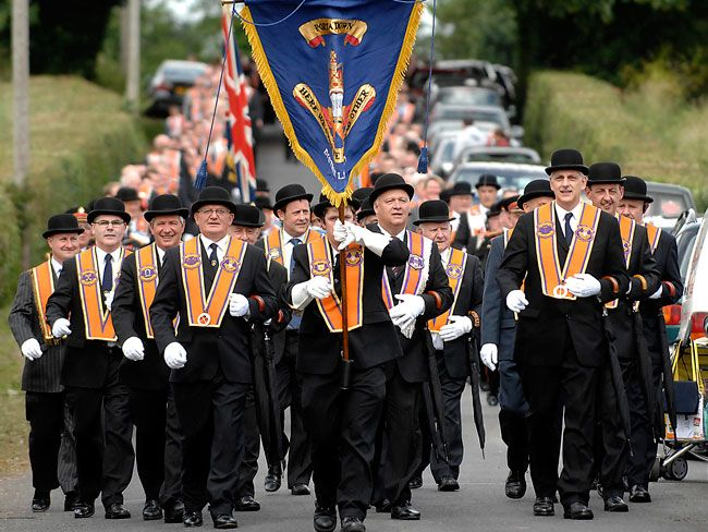Image result for orange march