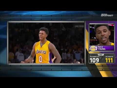 cc10a508d14 Access Lakers SportsNet  Nick Young Post Game Interview (11-22-16) - YouTube