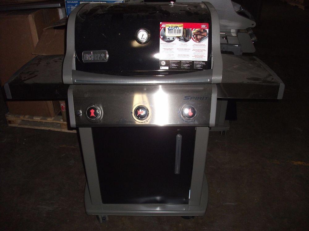 Weber 46510001 Spirit E310 Liquid Propane Gas Grill - Local