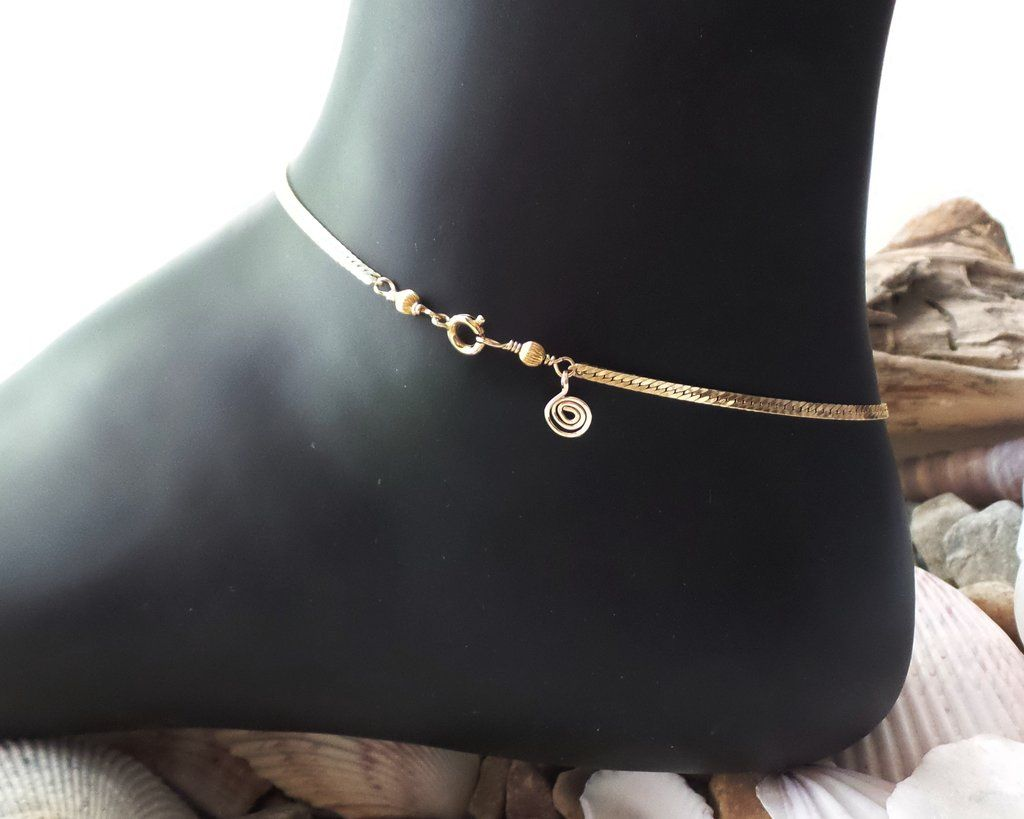 heart chain bracelet and silver shape double jewelry anklet usa pin bracelets women anklets ankle