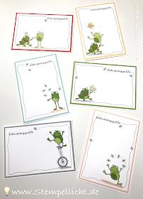 Stempellicht: Froschkönig - SAB Stempelset 2019 - Stampin´Up! #stampinup!cards