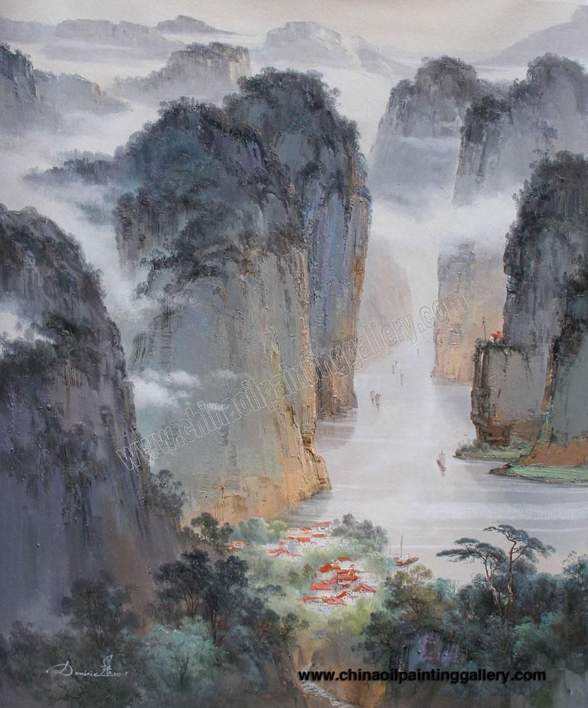 Famous Chinese Landscape Painting | Asian Art | Pinterest ...