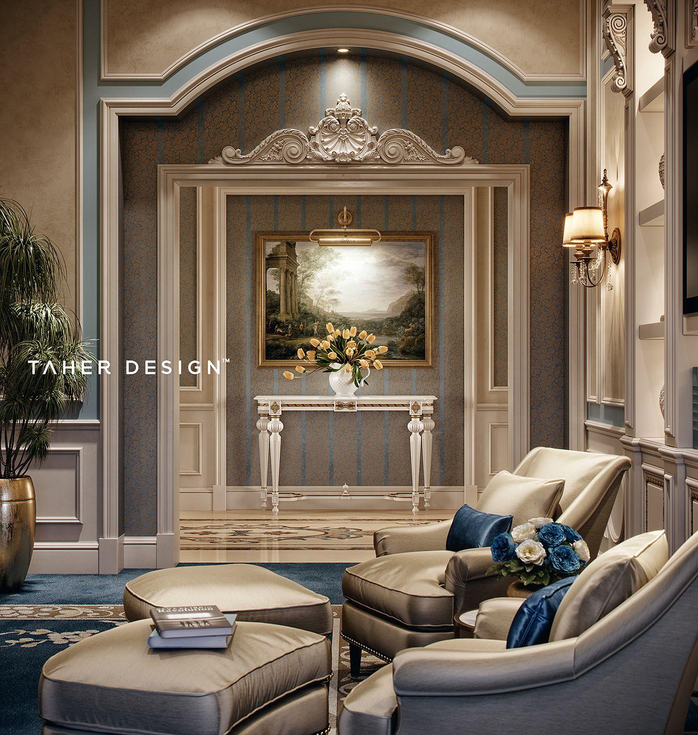 Luxury master bedroom dubai on behance in 2019 - Interior design courses in dubai ...