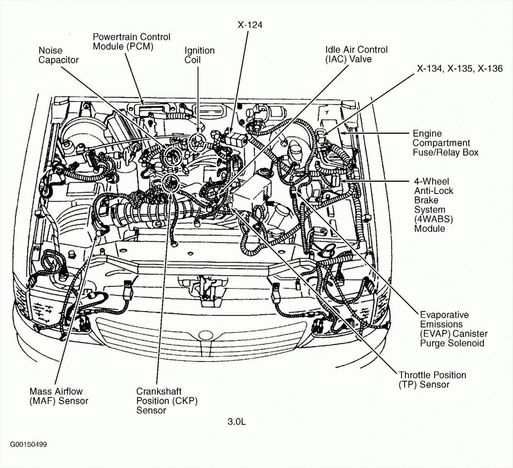 Subaru Engine Layout Diagram Di Taurus Ford Diagram