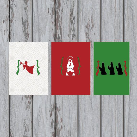 THREE Christmas prints to complete your by DesignsbyMaggieL, $2.00