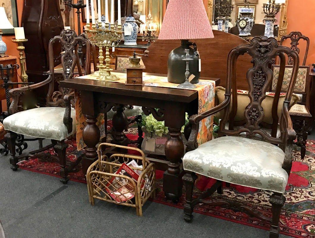 Set of Six Antique Portuguese Walnut Chairs  2995 Circa 1890  2995 Dealer   122 Forestwood Antique. Set of Six Antique Portuguese Walnut Chairs  2995 Circa 1890  2995