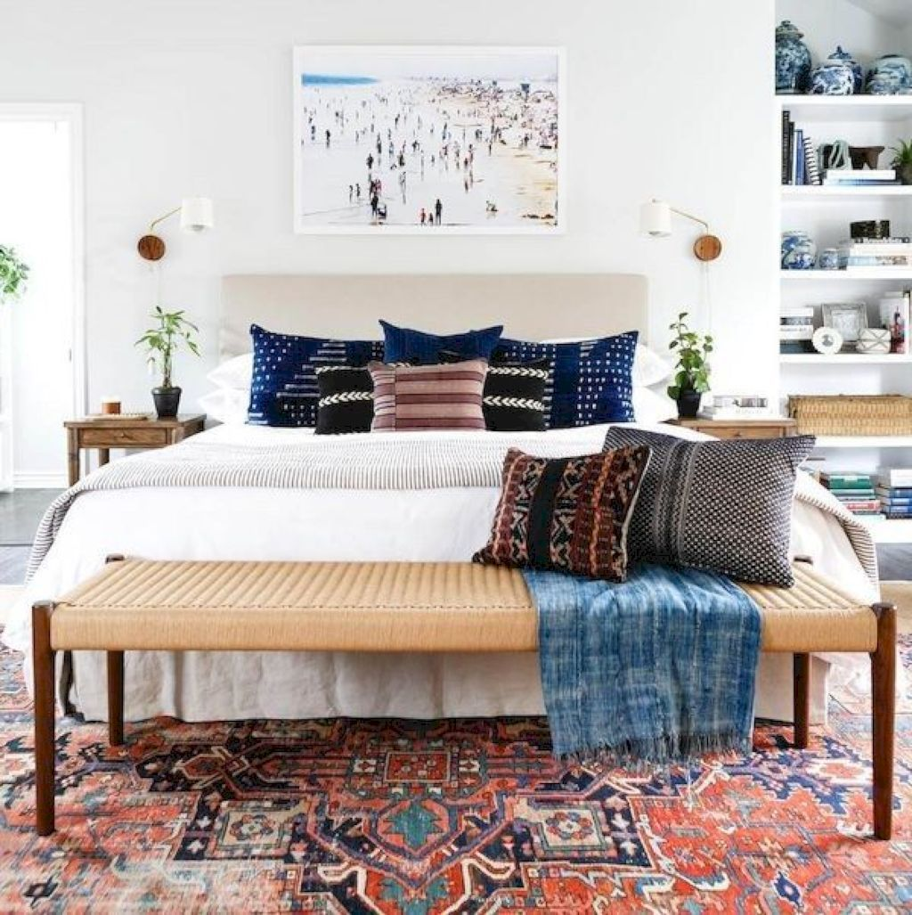 50 Cozy Bohemian Style Bedroom Decor and