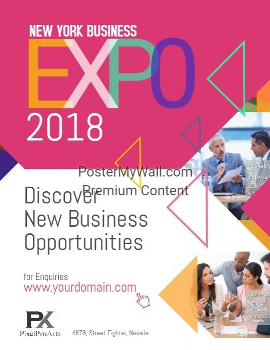 Business Expo Exhibition Poster Flyer Modern Business Flyer - new business flyers