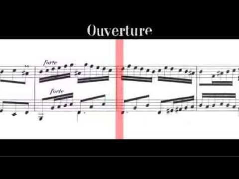 BWV 831 - French Overture (Scrolling)