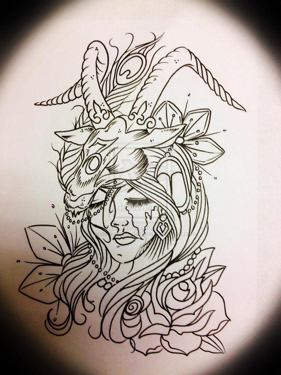 97f6de2cac868 Lady Capricorn by ~underlineage-designs on deviantART | Needle work ...