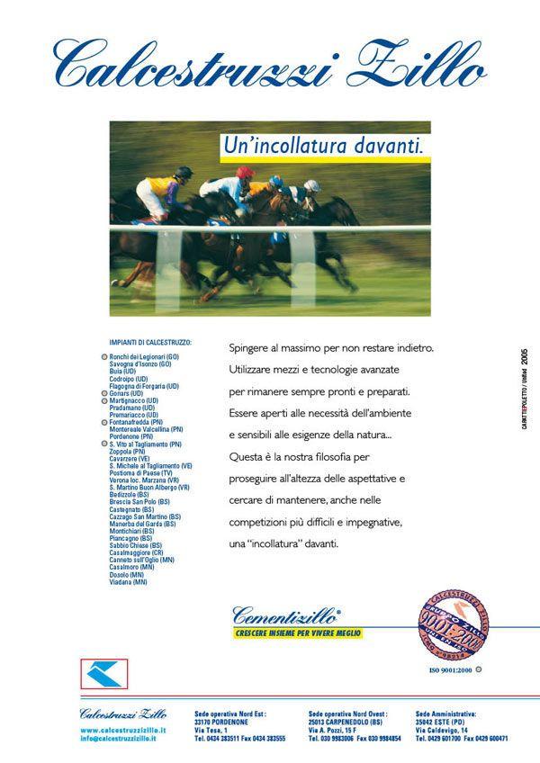 #adv istituzionale Calcestruzzi Zillo 2005