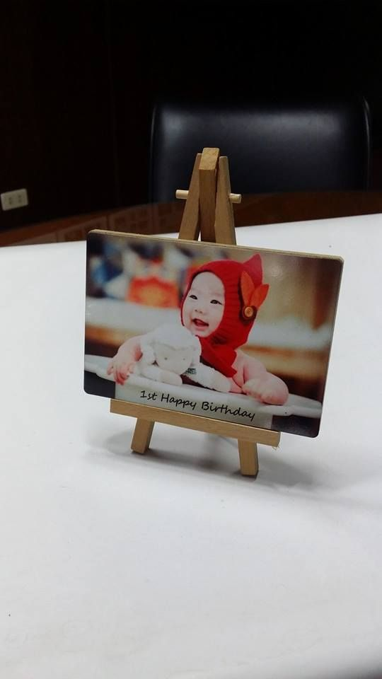 Metal Photo Easel Pearl Frame-Small 5\