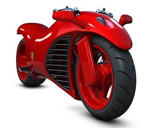 Ferrari V4 Superbike concept ...now this might make me get my ...