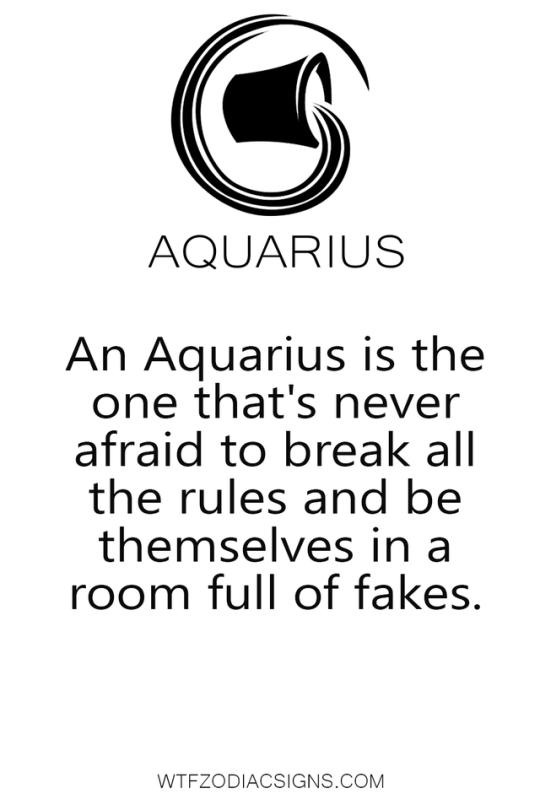 fun zodiac signs fact | Aquarius | Aquarius horoscope