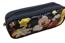 Mickey Mouse Plastic Pencil Case Pencil Box - Black Stars