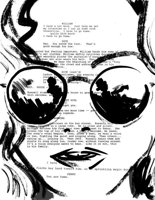 Almost Famous Screenplay Portrait