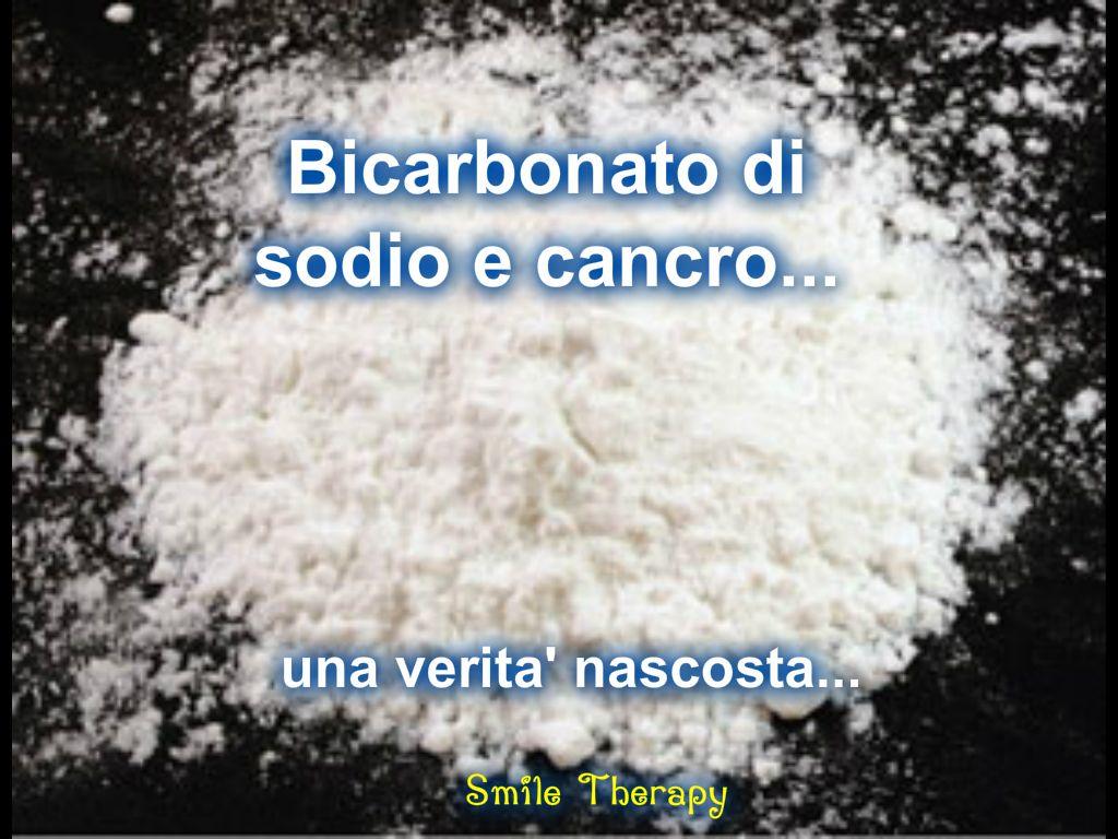 Bicarbonato di sodio e cancro