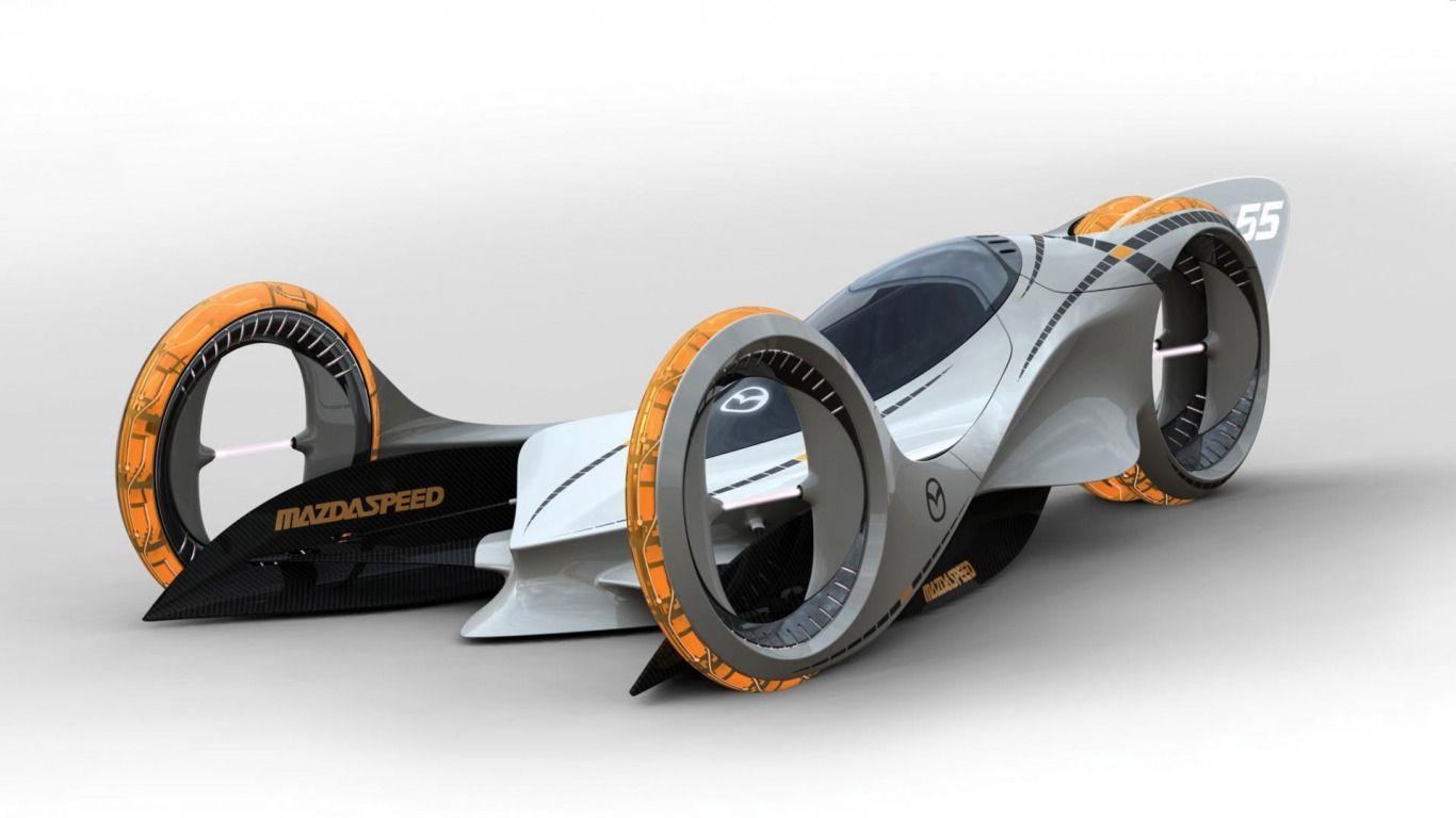 Futuristic Mazda Car Concept Hd Pictures Future Cars Design