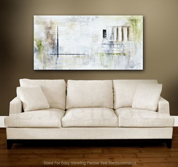 Original Abstract art painting large contemporary oil painting 24 x ...