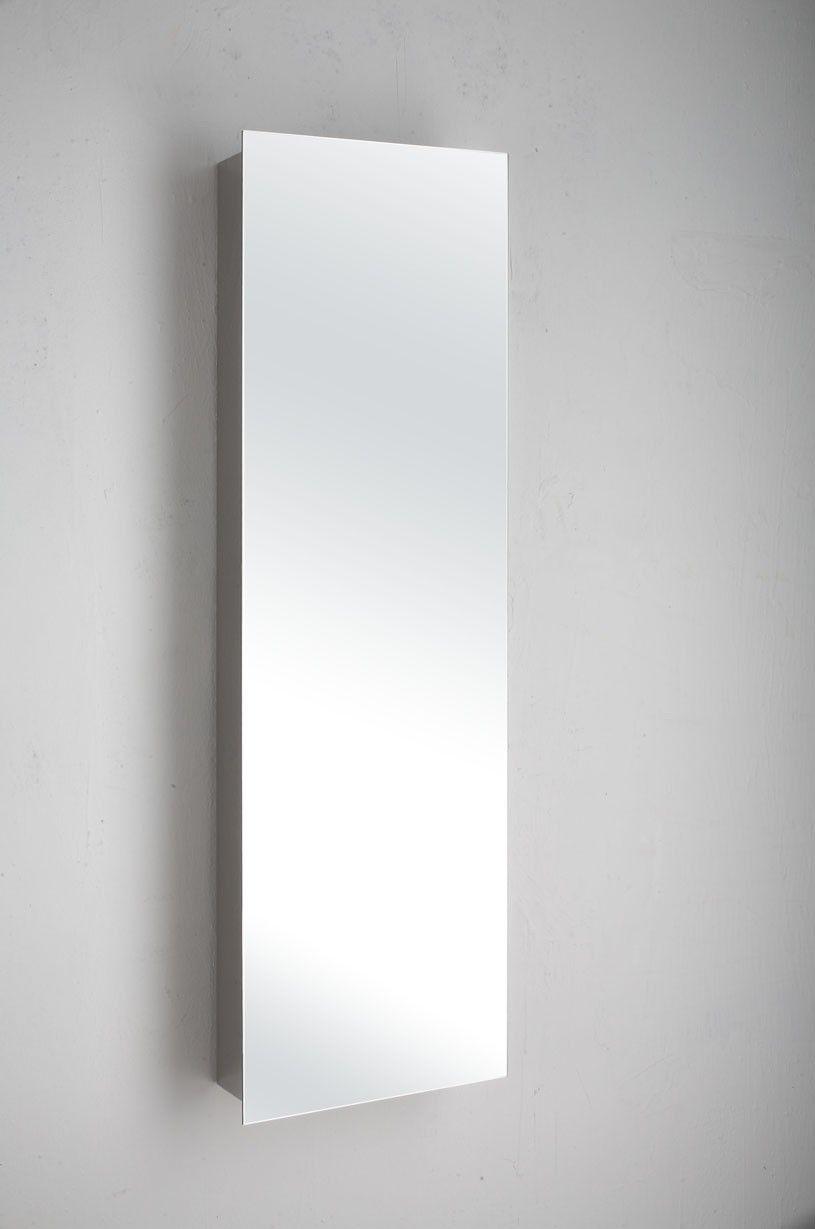 Brilliant Large Tall Narrow Mirror Bathroom Wall Cabinet 360Mm X Download Free Architecture Designs Estepponolmadebymaigaardcom