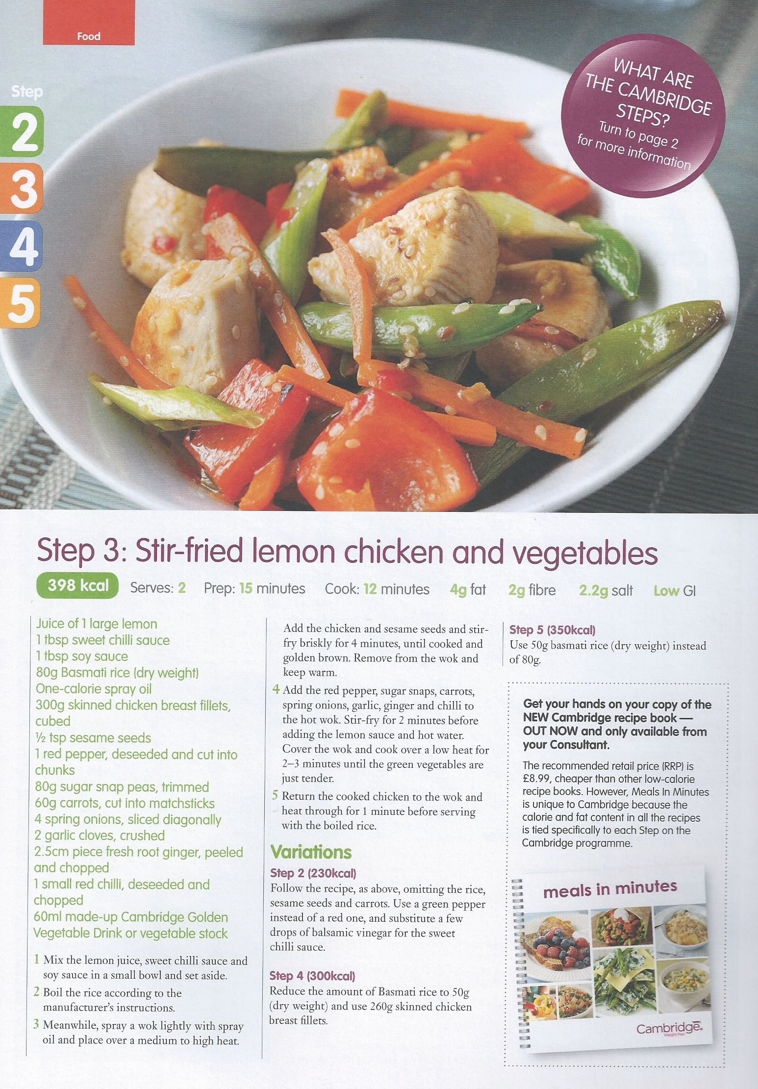 Stir fried lemon chicken and vegetables step 3 recipes and more recipies forumfinder Images
