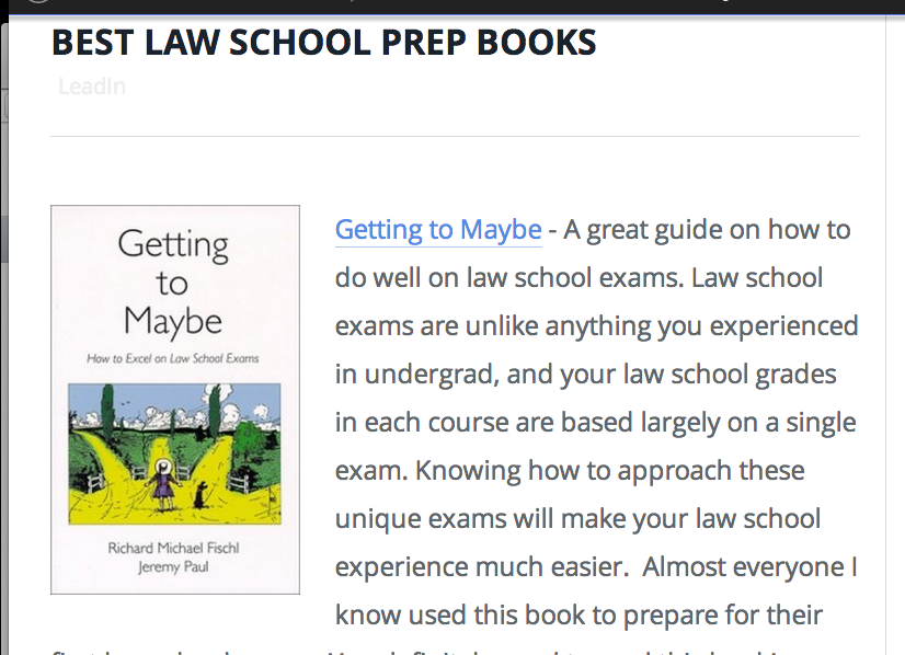 10 Books to Read Before Starting Law School - Law School ...