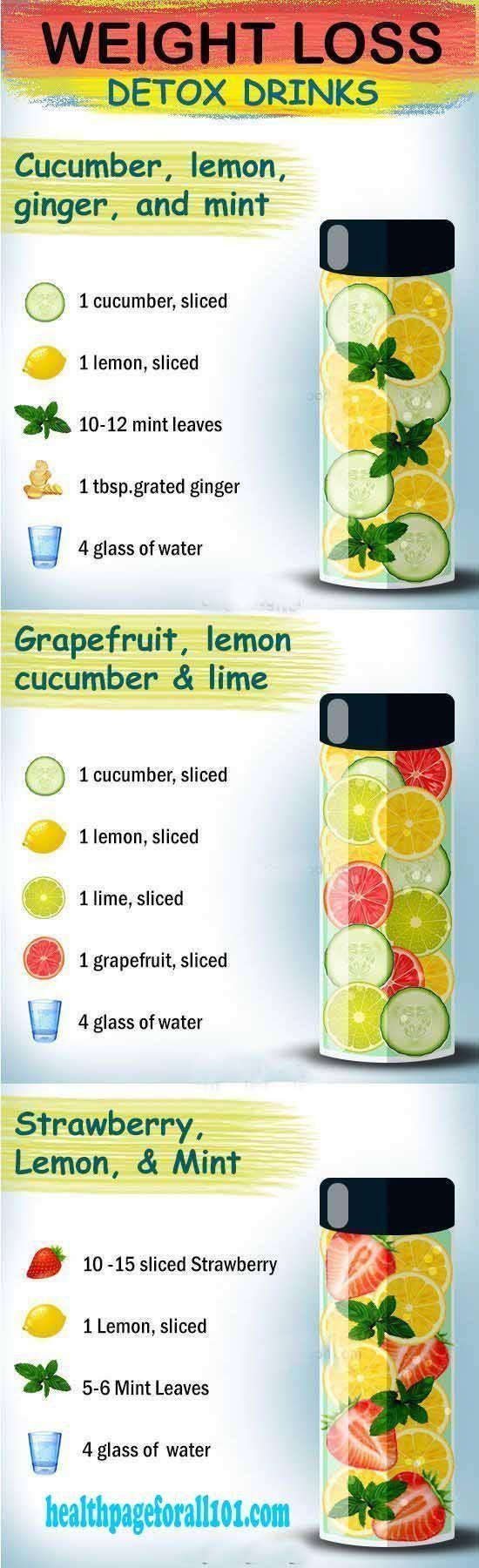 Natürlicher Bauch, der Detox-Wasser-Rezept abnimmt - Detox-Wasser-Rezepte, zum Sie zu helfen, zu verlieren #foodtips