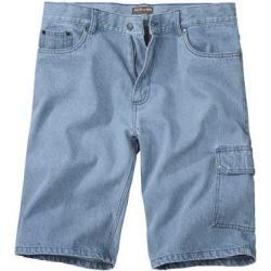 Jeans-Bermudas für Herren #denimstreetstyle