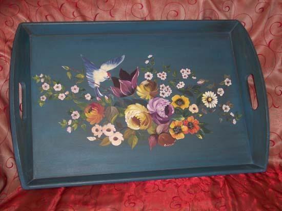 peinture sur bois | peinture sur bois | pinterest | peintures sur ... - Peinture Decorative Meuble Bois